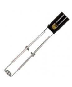 "Satco 80/1089 Satco 80-1089 75W-125V 5-3/8"" 6-5/8"" Phenolic Candelabra Base Socket"