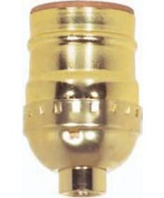 Satco 80/1194 Satco Aluminum Short Keyless Socket