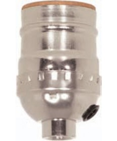 Satco 80/1373 Satco Aluminum Short Keyless Socket