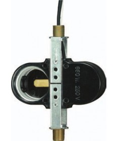 Satco 80/1664 Twin light socket Phenolic 8'' AWM B/W Leads