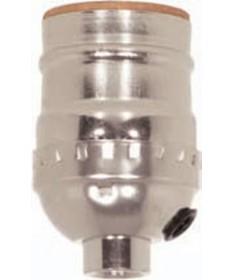Satco 80/1753 Satco Aluminum Short Keyless Socket
