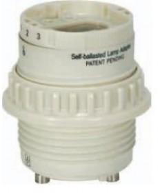 Satco 80/1856 Satco 18 Watt Electronic Self-Ballasted Cfl Lamp-Holder G24q-2 and GX24q-2 277VAC