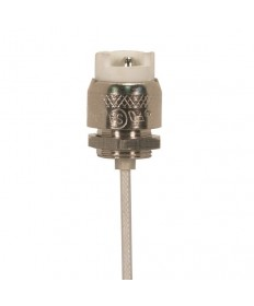 Satco 80/2004 Double Ended Halogen Socket R7S 18'' inch Leads