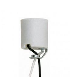 "Satco 80/2042 Keyless Porcelain Socket with Hickey 48"""
