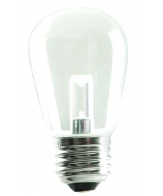 Halco 80522 S14CL1C/827/LED LED S14 1.4w Clear 2700K Dimmable