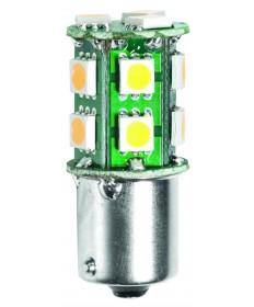 Halco 80692 JC10/1WW/BA15S/LED LED JC LED 1.5W 10-18V 3000K BA15S