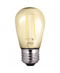 Halco 81140 S14AMB2ANT/822/LED S14 2W 2200K Amber Non-Dimmable