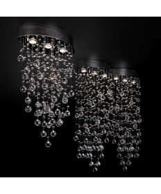 PLC Lighting 81624 PC Drizzle Collection