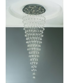 PLC Lighting 81729 PC 22 Light Chandelier Beverly Collection