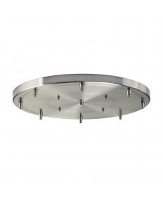 ELK Lighting 8R-SN Illuminare Accessories 8 Light Round Pan in Satin Nickel