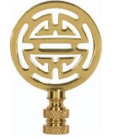 "Satco 90/1747 Satco 90-1747 2-3/4"" Oriental Brass Finial"