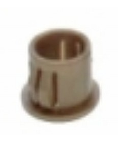 "Satco 90/1825 Satco Gold Nylon Snap-In Bushing for 3/8"" Hole"