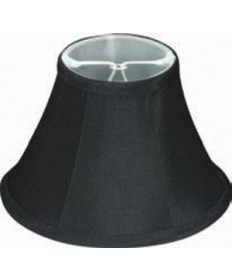 Satco 90/2485 Black Linen Clip on Shade