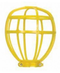 Satco 90/2612 Satco Yellow Trouble Light Plastic Bulb Cage