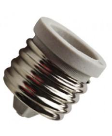 Halco 91002 Mogul Screw E39 to Medium Screw E26 Porcelain Adapter