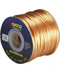Satco 93/139 Satco 93-139 18/2 SPT-1 105C 250FT Clear Gold Spool Wire