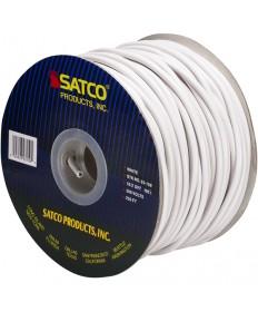 Satco 93/150 Satco 93-150 18/2 SVT 105C Pulley Cord 250FT White Spool Wire