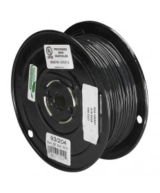 Satco 93/204 Satco 93-204 Nylon Black Wire 500FT Spool Wire