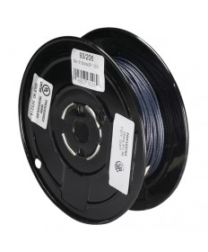 Satco 93/206 Satco 93-206 18/1 Stranded 200C SF-1 Wire 250FT Black Spool Wire