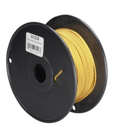 Satco 93/208 Satco 93-208 18/1 Rayon Braded 90C Gold w/Red Marker Wire 250FT Spool Wire