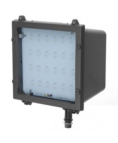 Halco 99902 FL2/CL41BZ50/LED LED MEDIUM FLOOD LIGHT BRONZE 120-277V
