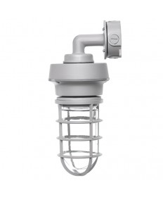 Halco 99905 VT1/CL13GRY50/WM/LED LED VAPORTIGHT LIGHT GREY WALL MOUNT