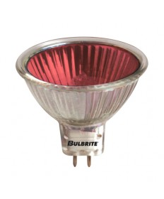 Bulbrite 637350 | 50 Watt Dimmable Color Light Halogen MR16, Bi-Pin