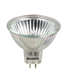 Bulbrite 639150 | 50 Watt Dimmable Long Life Halogen Lensed MR16