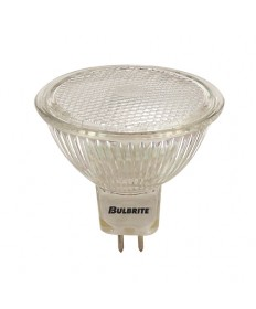 Bulbrite 641450 | 50 Watt Dimmable Halogen Lensed MR16 Bulb, Bi-Pin
