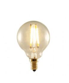 Bulbrite 776506 | 2-Watt LED Nostalgic Globe Bulb, 25W Equivalent