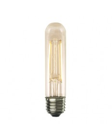 Bulbrite 776608 | 2 Watt LED Nostalgic Filament T9 Bulb, Medium (E26)