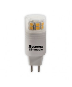 Bulbrite 770560 | 3 Watt LED Dimmable GY6 Bulb, GY6 Base, Soft White