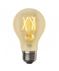 Bulbrite 776602 | 4 Watt LED Nostalgic Filament A19 Bulb, Medium (E26)