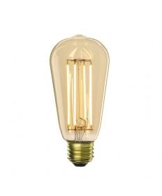 Bulbrite 776601 | 5 Watt LED Nostalgic Filament ST18 Bulb, Medium