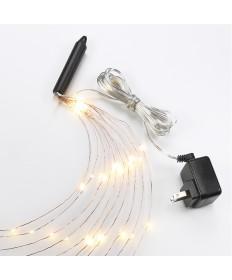 Bulbrite 810066 | Indoor LED Starry String Lights-Multi, 10 - 10'
