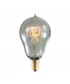Bulbrite 152516 | 25 Watt Nostalgic Edison A15 Bulb, Vintage Loop