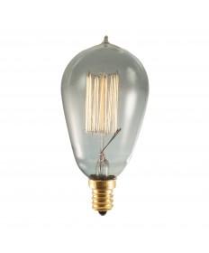 Bulbrite 152510 | 25 Watt Nostalgic Edison ST15 bulb, Vintage Thread