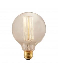 Bulbrite 342040 | 40 Watt Nostalgic Edison G30 Globe, Thread Filament