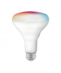 Satco S11255 9.5BR30/LED/RGB/TW/SF 9.5 Watts 120 Volts LED Light Bulb