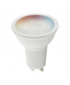 Satco S11271 5.5MR16/GU10/RGB/TW/SF 5.5 Watts 120 Volts LED Light Bulb