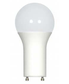 Satco S29841 9.8 Watt LED A19 3500K GU24 LED Bulb 120 Volts