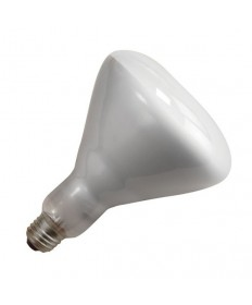 Satco S4353 Satco 300BR/FL 300 Watt BR-40 120 Volt E26 Medium Base 2000 Hour Reflector Flood Incandescent Light Bulb