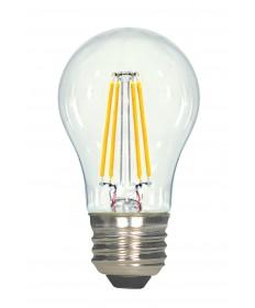 Satco S8607 4.5A15/CL/LED/E26/27K/120V 4.5 Watts 120 Volts 2700K LED