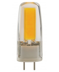 Satco S8681 LED/4W/JC/G8/CL/5K/120V 4 Watts 120 Volts 5000K LED Light
