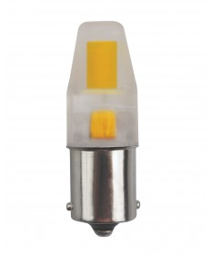 Satco S8689 LED/3W/BA15S/CL/5K/12V 3 Watts 12 Volts 5000K LED Light