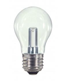 Satco S9150 1.4W A15/CL/LED/120V/CD 1.4 Watts 120 Volts 2700K LED