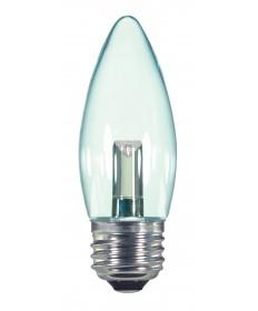 Satco S9154 1.4W ETC/LED/120V/CD 1.4 Watts 120 Volts 2700K LED Light