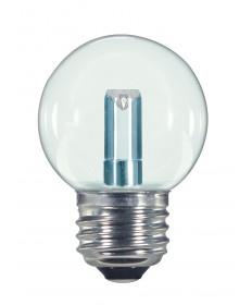 Satco S9158 1.4W G16.5/CL/LED/120V/CD E26 1.4 Watts 120 Volts 2700K