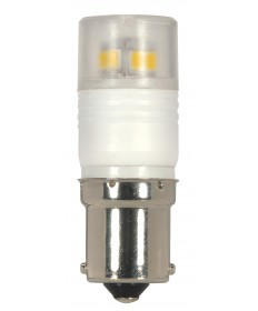 Satco S9222 LED 2.3W BA15S 3000K 2.3 Watts 12 Volts 3000K LED Light