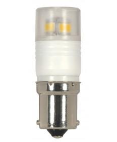 Satco S9222 LED 2.3W BA15S 3000K 2.3 Watts 12 Volts 3000K LED Light